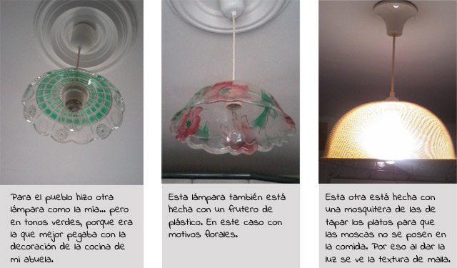 como hacer una lampara barata y sencilla diy