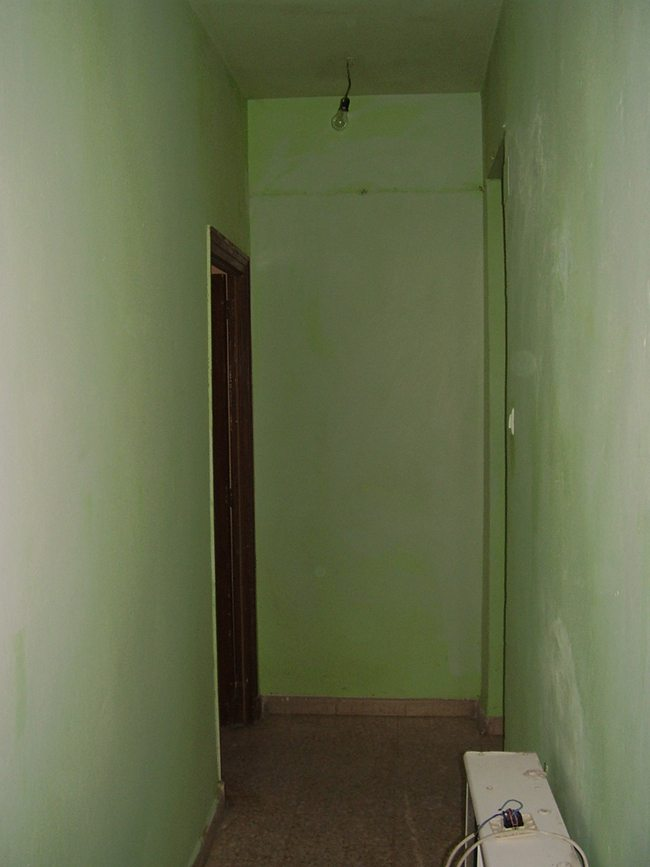 C mo pintar un pasillo oscuro para que sea m s luminoso treinta y diario de una treinta era - Pinturas para pasillos ...