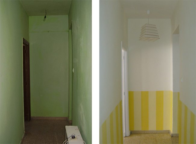 C mo pintar un pasillo oscuro para que sea m s luminoso - Como pintar el pasillo de mi casa ...