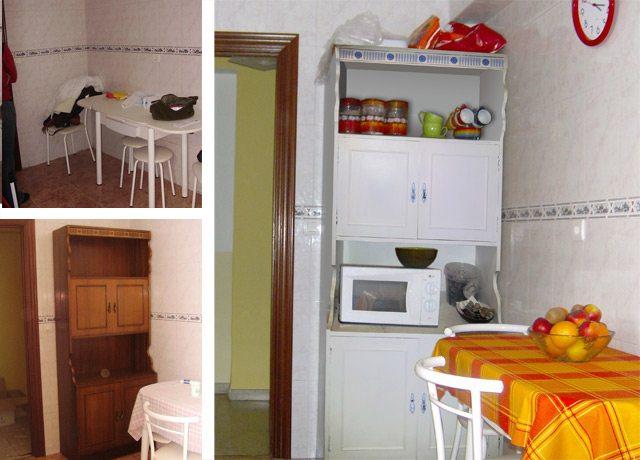Recopilaci n de ideas de decoraci n low cost treinta y for Como restaurar un mueble viejo