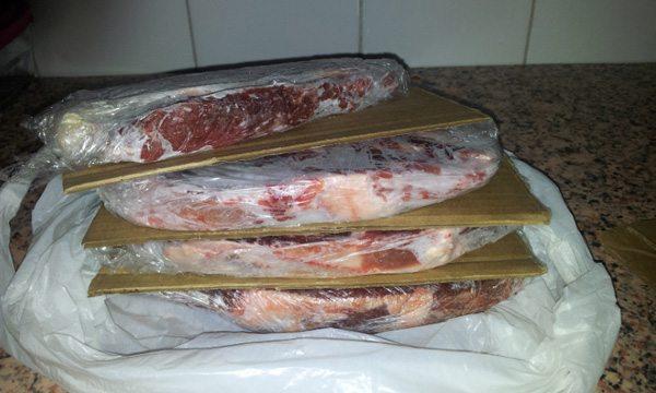 descongelar filetes