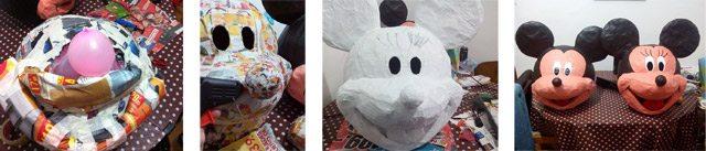 cabezas-de-mickey-mouse-de-papel-mache