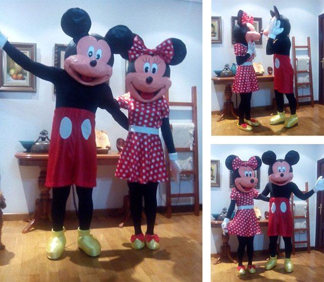 disfraz-casero-mickey-y-minnie-mouse