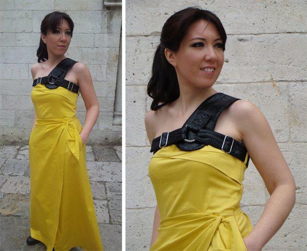 vestido-largo-detalles-en-cuero