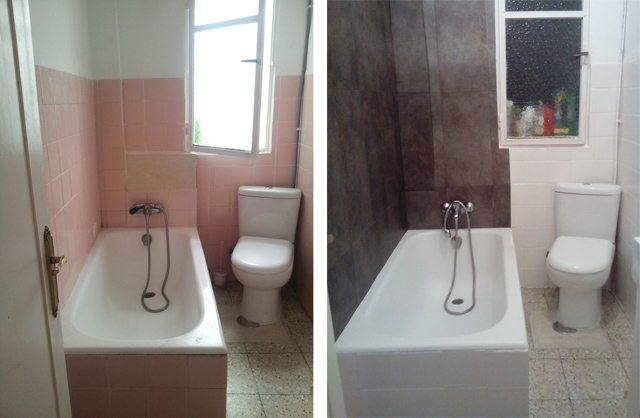 losetas vinilicas para baño