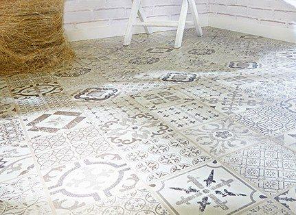 Decoracion mueble sofa suelos adhesivos leroy merlin - Suelo laminado autoadhesivo ...