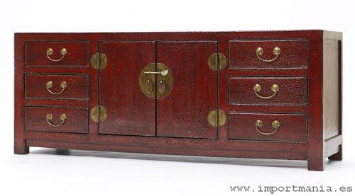 Renovar un viejo mueble d ndole un toque oriental - Mueble oriental madrid ...