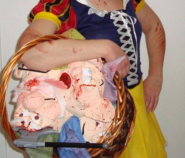 halloween-disfraz-blancanieves-sangrienta