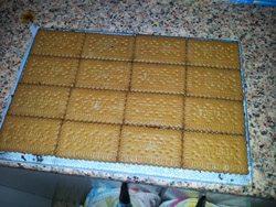 receta muy sencilla de tarta de chocolate y galleta