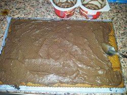 Cómo hacer una tarta de chocolate y galleta sin horno