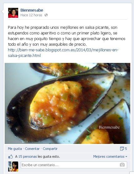 bienmesabe mejillones en salsa picante