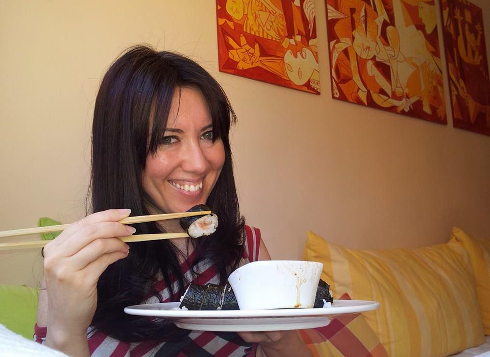 receta muy facil para hacer sushi casero